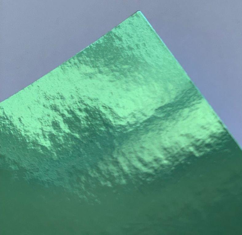 Papel Laminada 30x30cm 180 gramas Verde Lamicote - Unidade