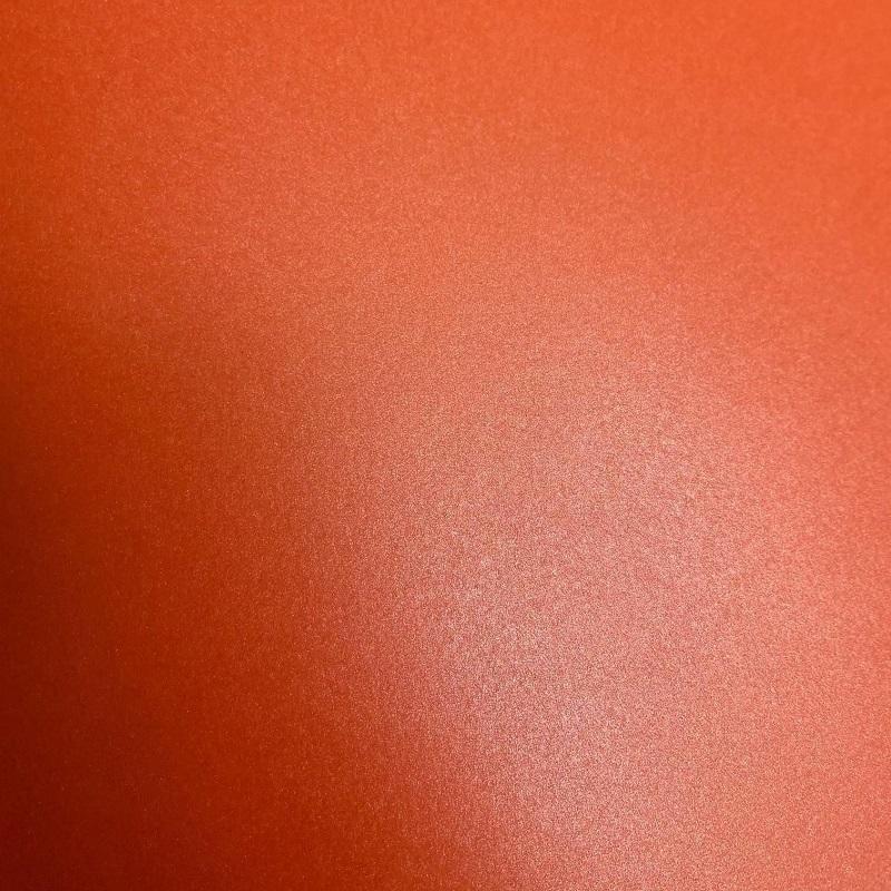 Papel Metalizado Cenoura 30x30cm 180 gramas Perola - Unidade