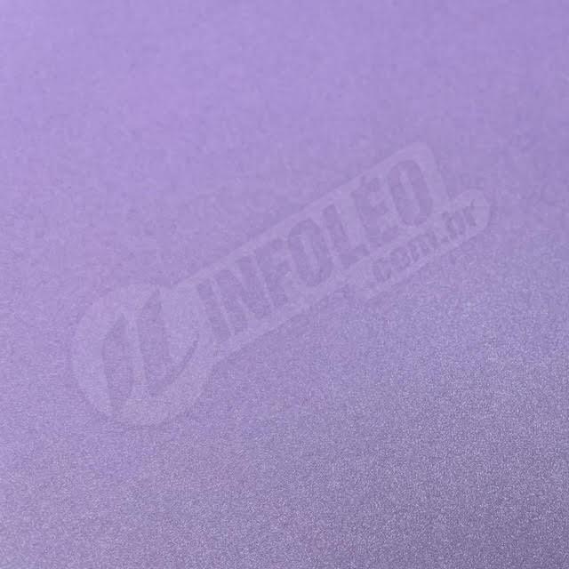 Papel Metalizado Lavanda 30x30cm 180 gramas Perola - Unidade