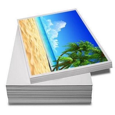 Papel Offset Adesivo Fosco A4 170 gramas - 20 Folhas