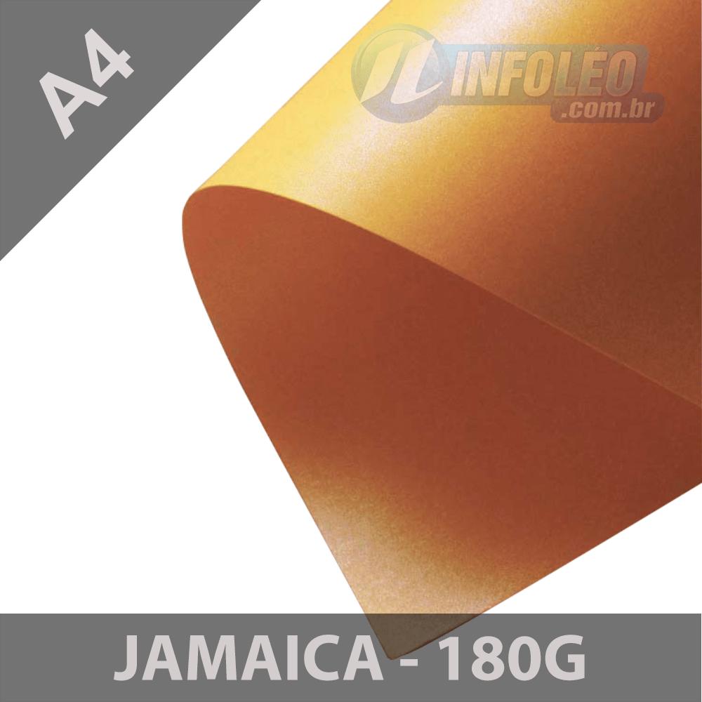 Papel Pérola Jamaica 180g A4 - 10 Folhas
