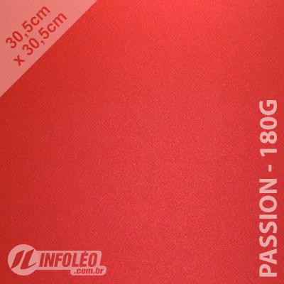 Papel Relux Intense Passion 30x30cm 180g - Unidade