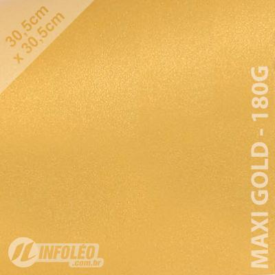 Papel Relux Maxi Gold 30x30cm 180g - Unidade