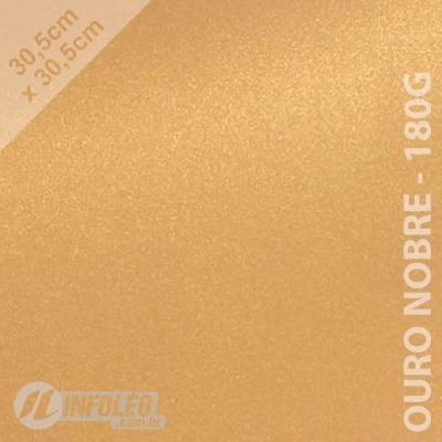 Papel Relux Ouro Nobre 30x30cm 180 gramas - Unidade