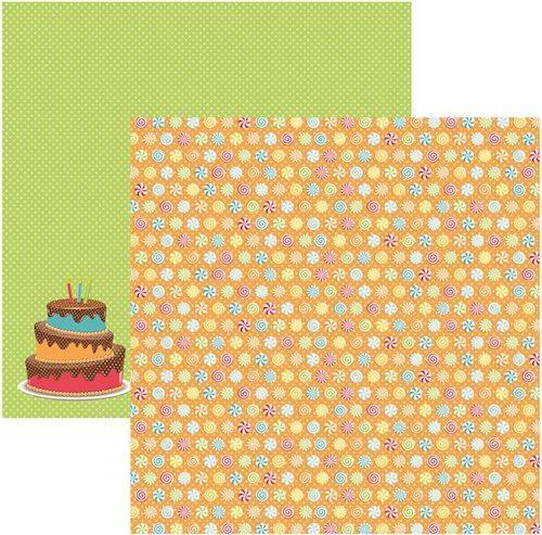 Papel Scrap Aniversário Balinhas Toke e Crie - 15804 - SDF482
