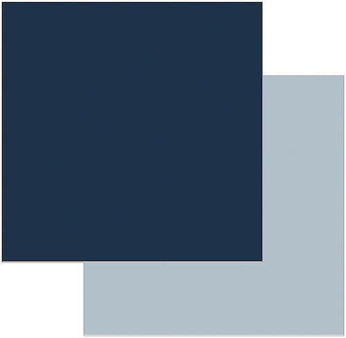 Papel Scrap Azul Marinho Toke e Crie - 8724 - KFSB43