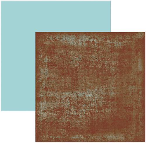 Papel Scrap Azul Turquesa Toke e Crie - 9773 - KFSB109