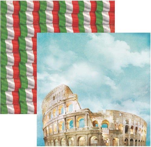 Papel Scrap Destinos Roma Toke e Crie - 14620 - SDF393