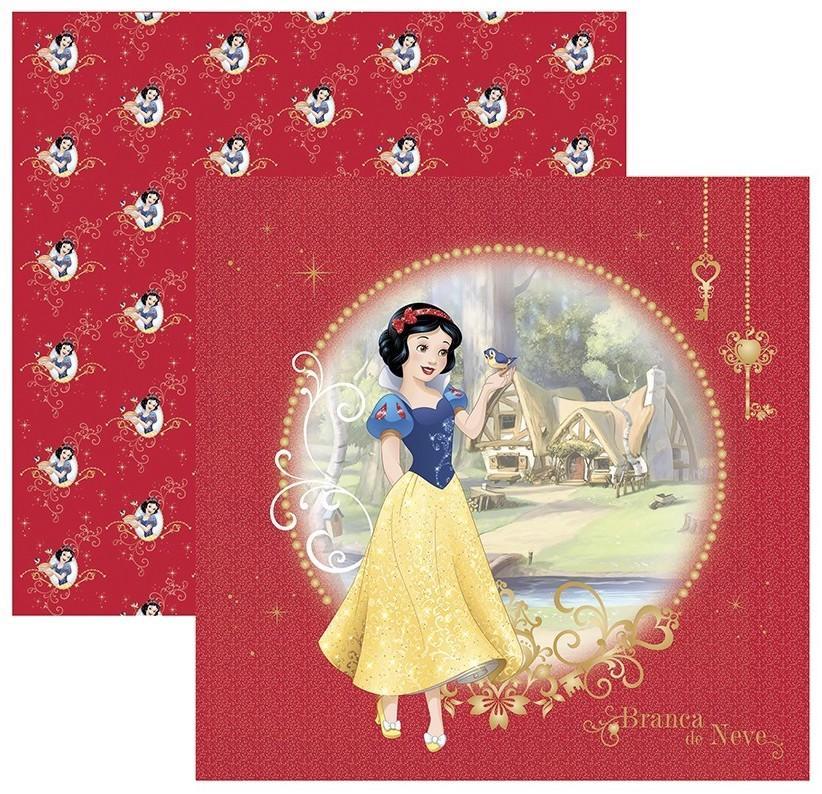 Papel Scrap Disney Branca de Neve 1 Guirlanda Toke e Crie - 19560 - SDFD75