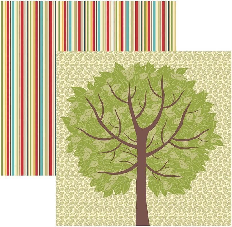 Papel Scrap Familia Árvore Toke e Crie - 17524 - SDF577