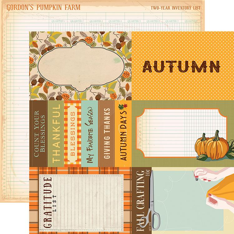 Papel Scrap Importado 4x6 Journaling Cards - CBATM57010