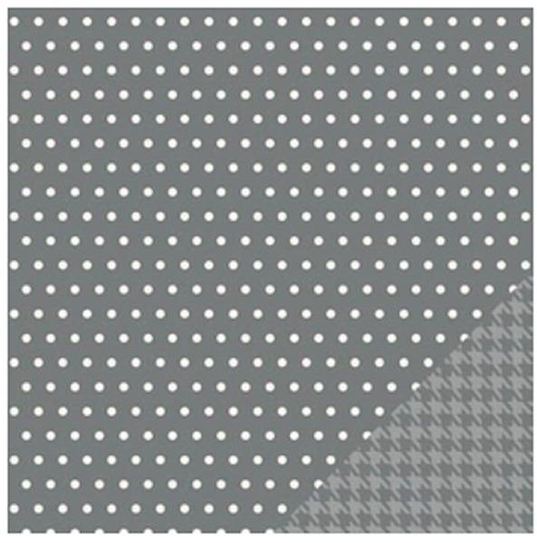 Papel Scrap Importado Grey Whimsy - 732595