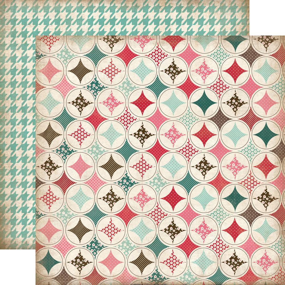 Papel Scrap Importado Handmade Quilt - CBHSH47002