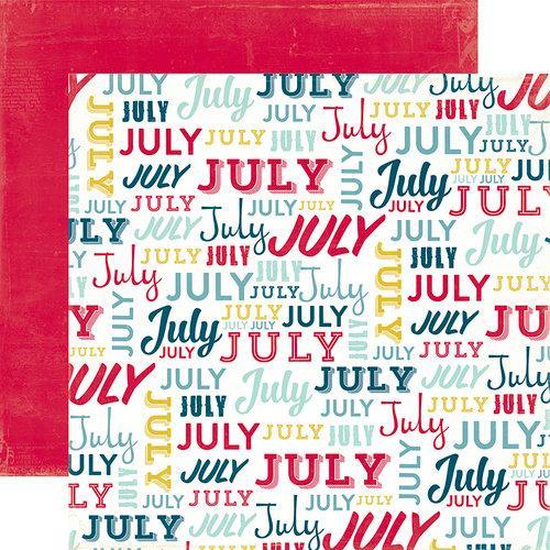Papel Scrap Importado July - TTY76023