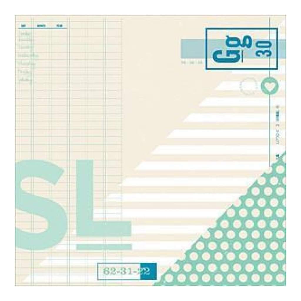 Papel Scrap Importado Shimelle - Dowdy - 368158