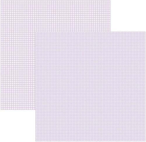 Papel Scrap Lilás Xadrez Duplo Toke e Crie - 15104 - KFSB302