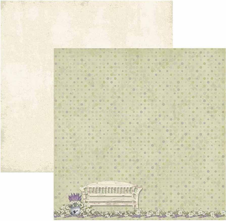 Papel Scrap Provance Banco Toke e Crie - 17647 - SDF583