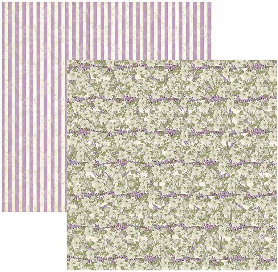 Papel Scrap Provance Floral Toke e Crie - 17649 - SDF585