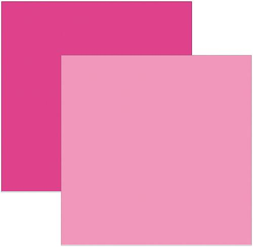 Papel Scrap Rosa Pink Toke e Crie - 8736 - KFSB55