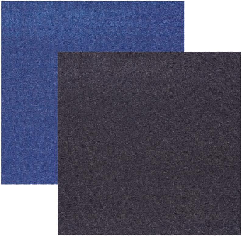 Papel Scrap Texturas Jeans Toke e Crie - 17858 - SDF627