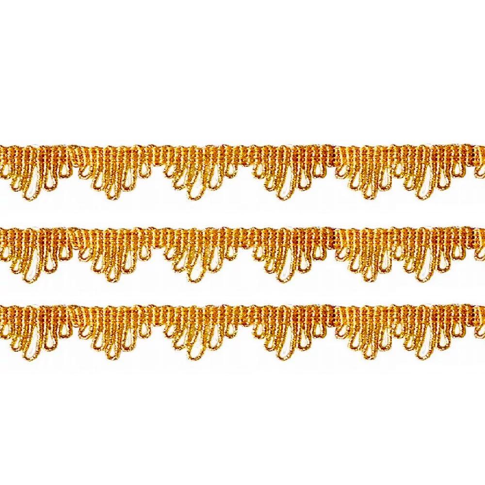 Passamanaria 17mm Ouro 7310 São José 10 Metros