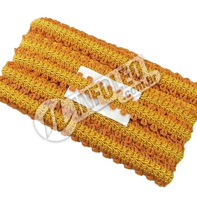 Passamanaria São José 7097 Amarelo Ouro/Laranja/Ouro 10 metros