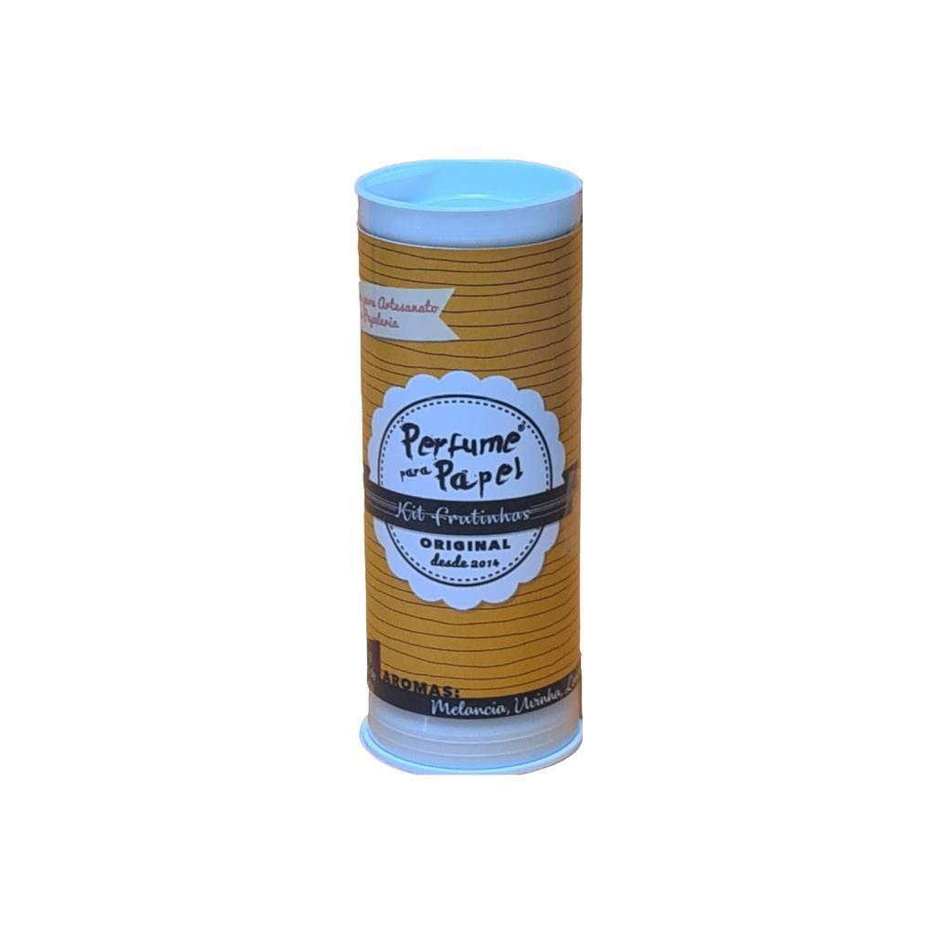 Perfume para Papel Kit Frutinhas com 3 aromas 15 ml cada (Uvinha, Limãozinho, Melância)