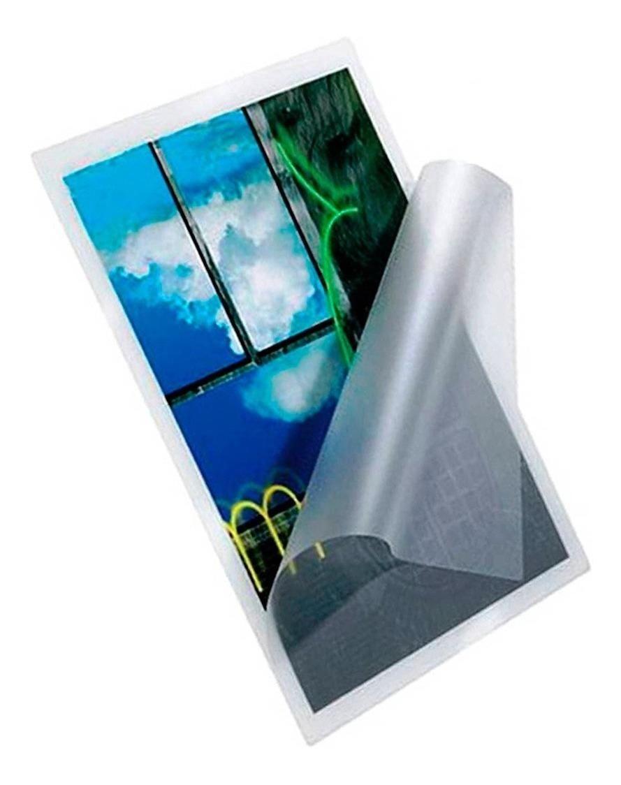 Polaseal Plástico para Plastificação A4 0,05mm 125 micras - 5 unidades