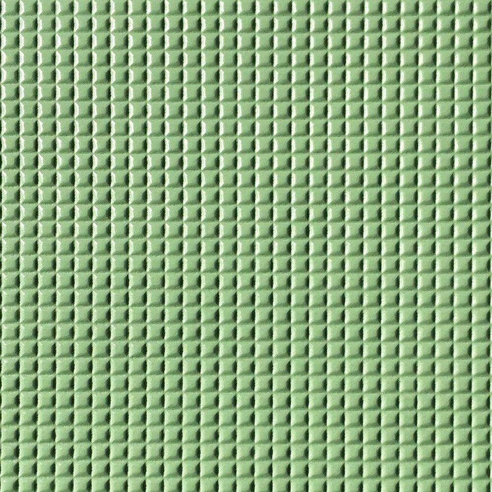 PU Quadriculado Verde Mar C/ Textura Festa 31x43cm - 0076 - Unidade