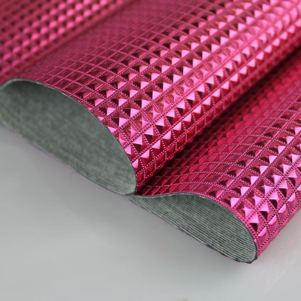 PVC Keóps Rosa Pink Laminado Metalizado 45x50cm