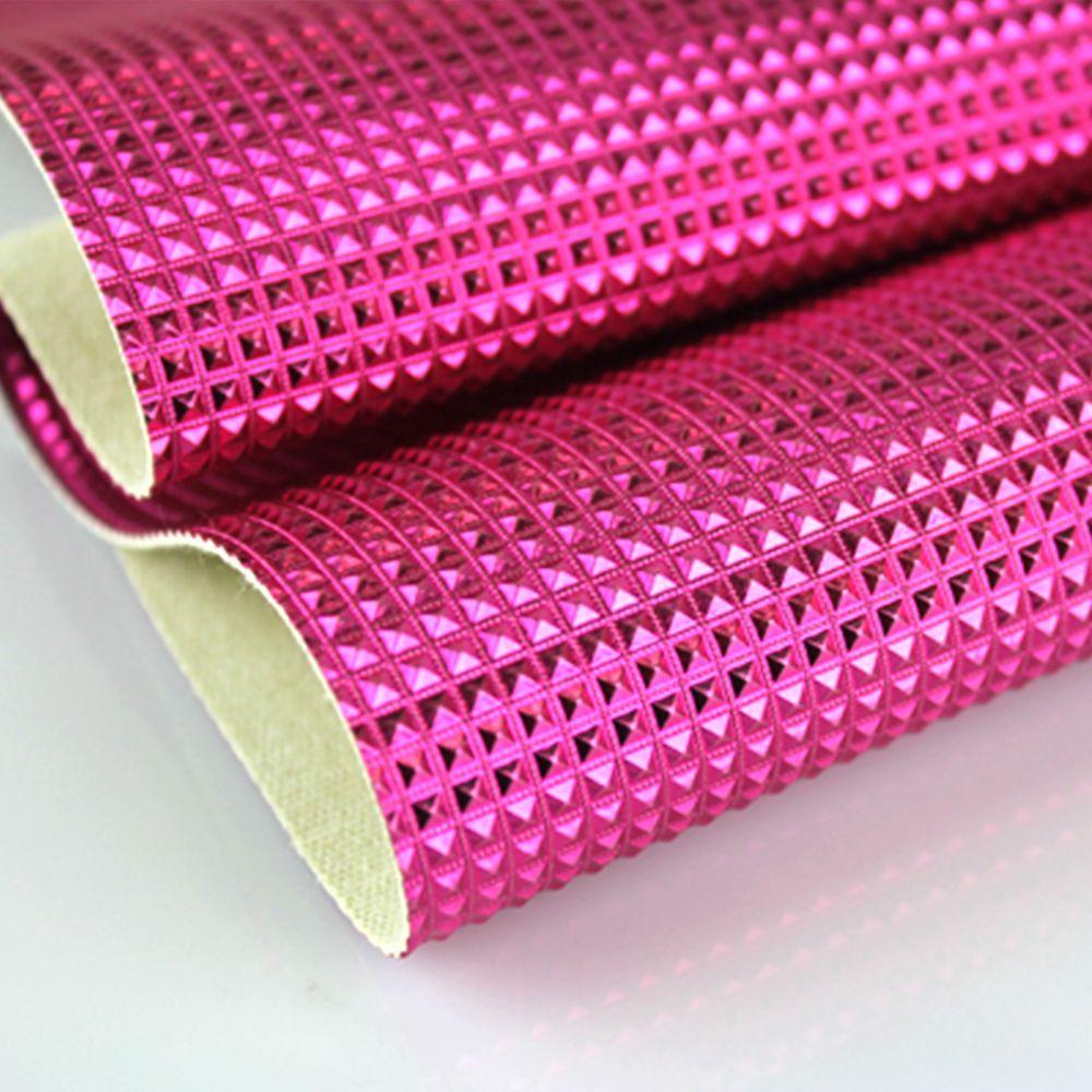 PVC Mini Keóps Rosa Pink Laminado Metalizado 42x50cm