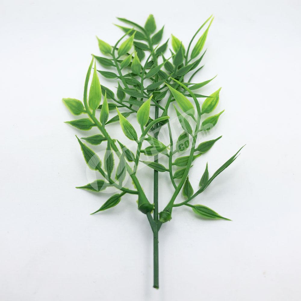 Ramo Buque de Bambu Planta Artificial - Unidade
