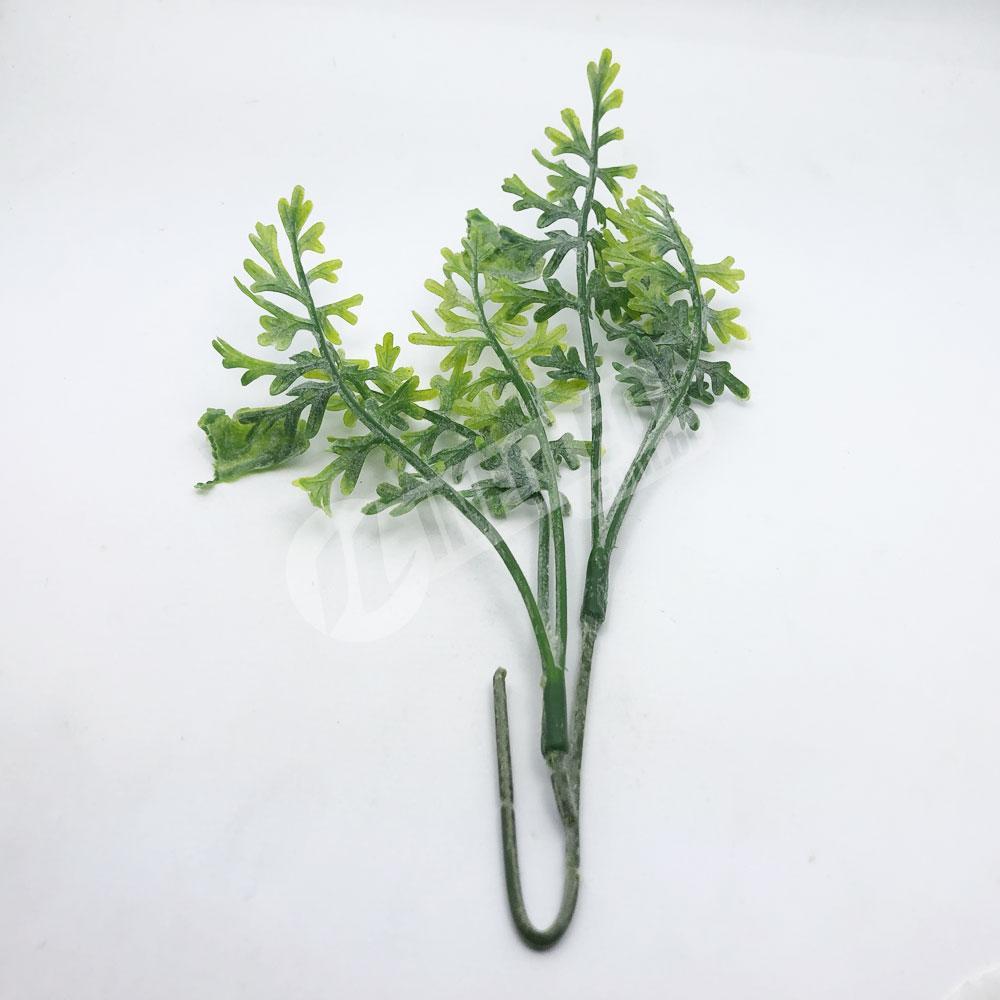 Ramo Buque de Folha de Cenoura Planta Artificial - Unidade