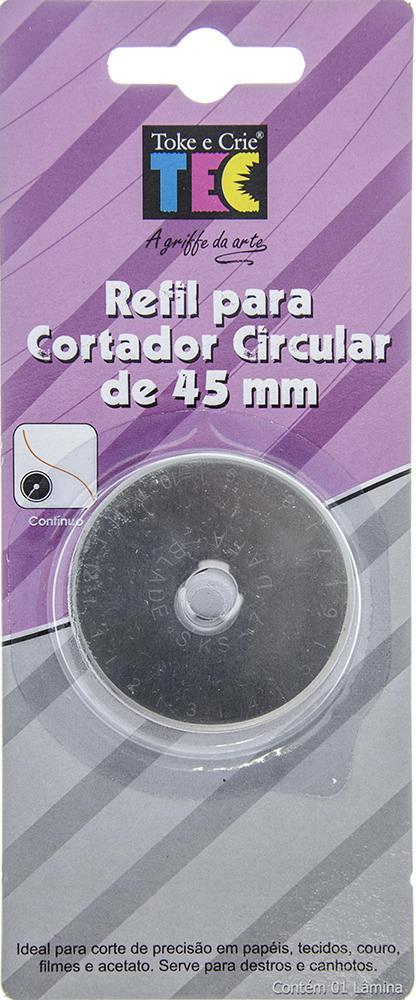 Refil Laminas P/ Cortador Circular 45mm Toke e Crie - 944 - DI020