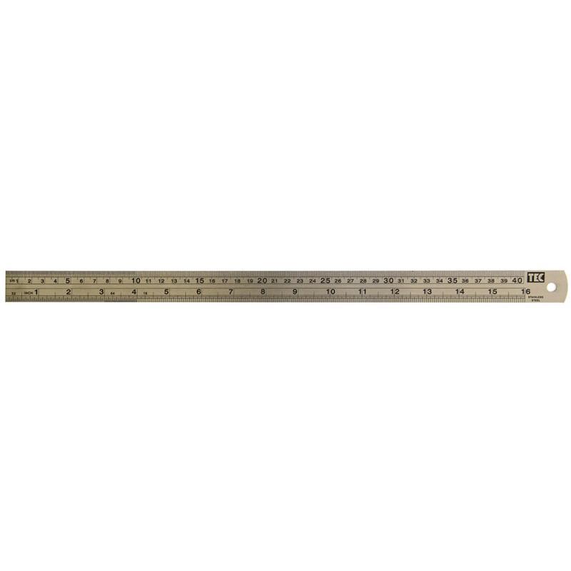 Régua de Metal 40cm Toke e Crie - 7459 - RM003
