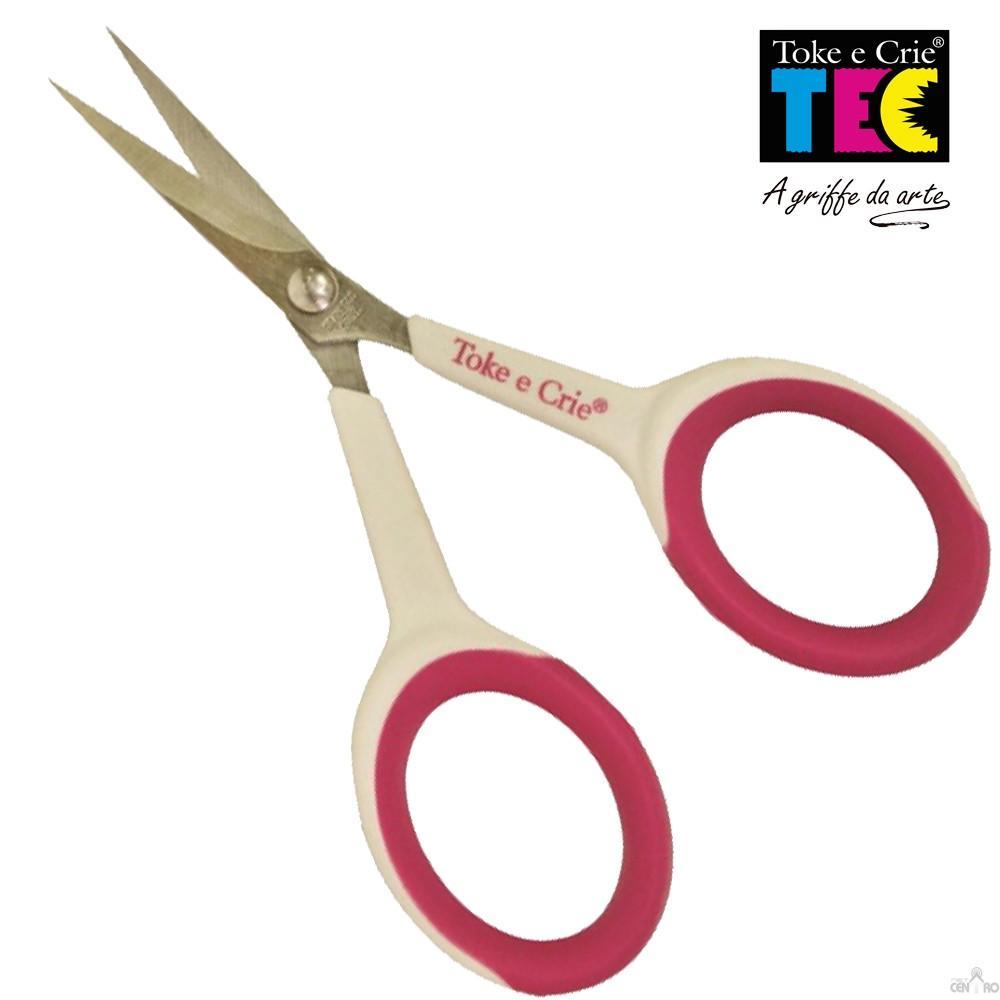 Tesoura Infinite Hobby 10,5cm Toke e Crie - 12834 - TES004