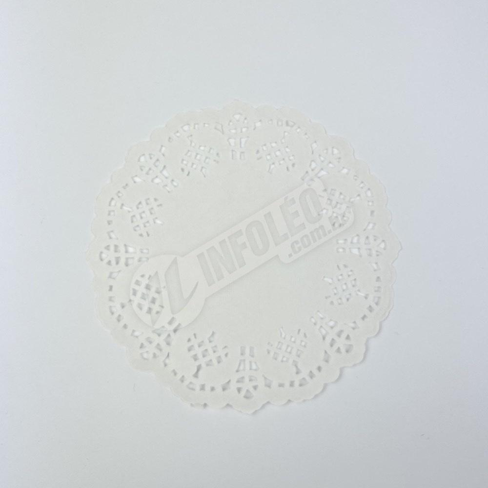 Toalha Papel Branco Doilie 11,4cm - 24 unidades