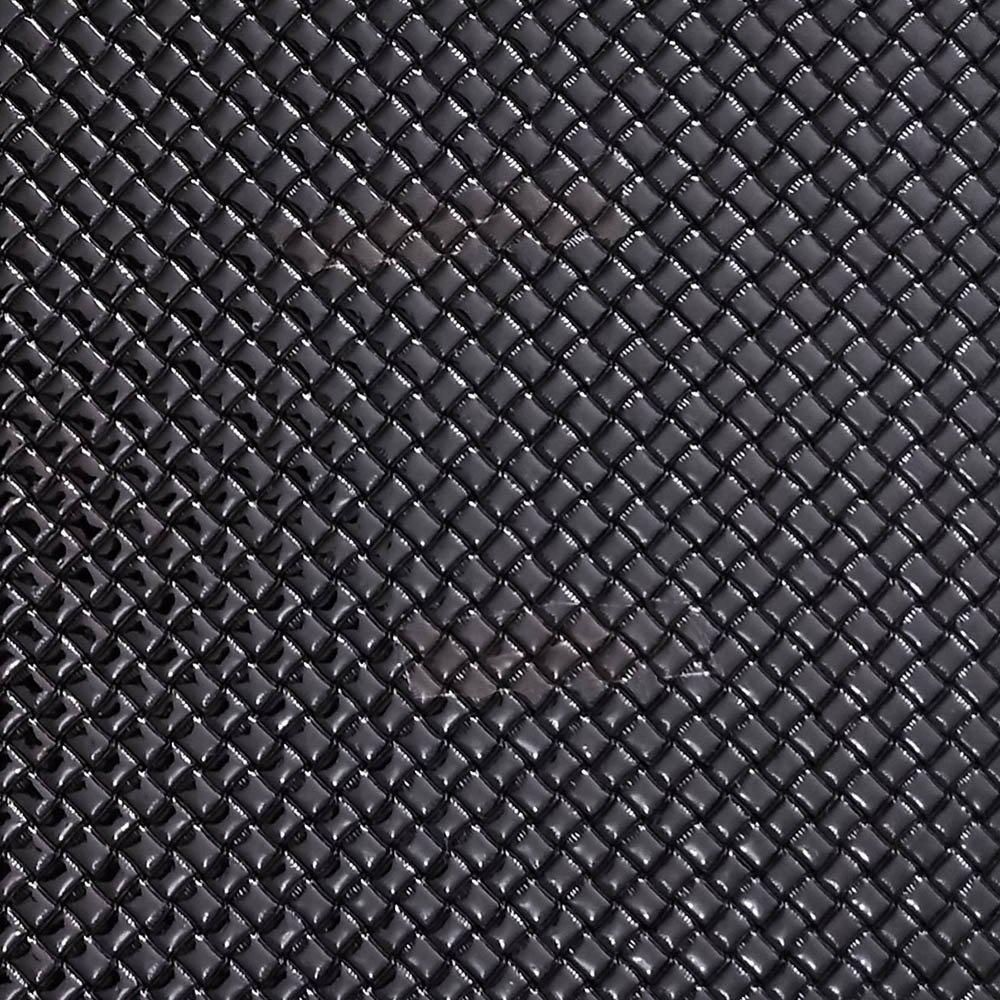 Tresse PU Preto C/ Textura Festa 31x43cm - 0013 - Unidade