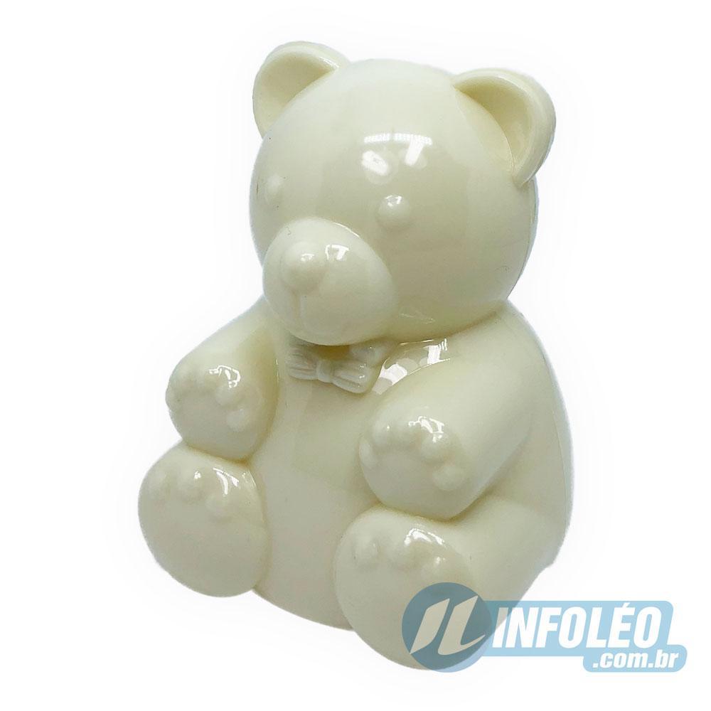 Urso de Plástico Creme 7cm AG0003