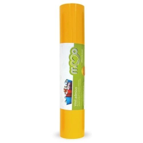 Vinil Adesivo 30cmx5m Amarelo Médio MIMO Para Silhouette Cameo