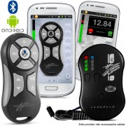 Controle Som Automotivo Jfa Smart Bluetooth Prata