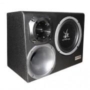 Caixa Som Automotivo Amplificada Trio 12 300W Rms Corzus CXT300 com Módulo Completa