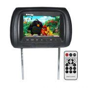 Encosto Cabeça Tela Monitor Usb SD IR Tech One Standard Preto