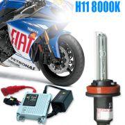 Kit Xenon Moto 12V 35W H11 8000K