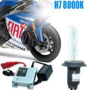 Kit Xenon Moto 12V 35W H7 8000K