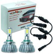 Par Lâmpada Super Led 6400 Lumens 12V 24V 32W Seven Parts HB3-9005 6000K