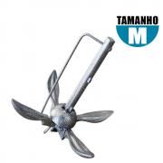 Âncora Folding Dobrável de Aço 4 Kg - Pesca e Náutica Descalvado
