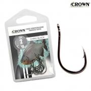 Anzol Crown Chinu Black Nº02 10 Unidades