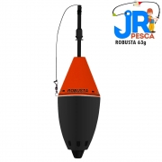 Boia Cevadeira Robusta 63g 668 Vermelho - JR Pesca