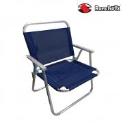 Cadeira de Praia Conforto Sannet 140 Kg Azul Escuro - Ronchetti